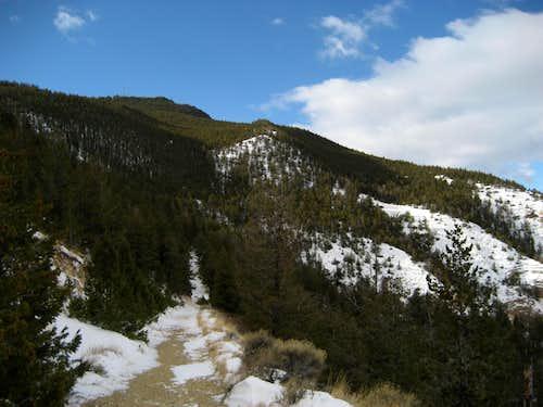 Spirit Mountain Cave trail