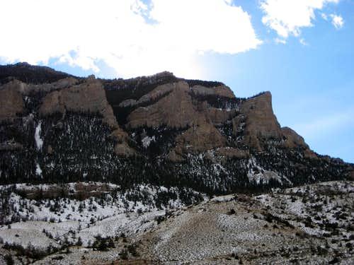 North Face of Cedar Mountain