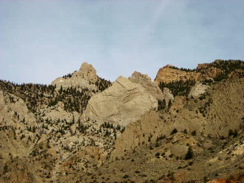 West side of Cedar Mountain