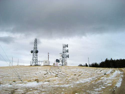 Radio Towers on Cedar Mountain