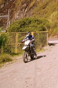Dirt Bike tour to Amazon Basin.