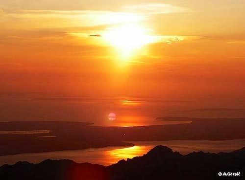 Viserujna sunset