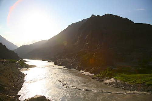 View from Karakoram Highway, Pakistan