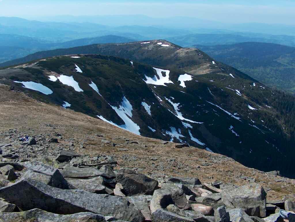 Western ridge of Babia Góra