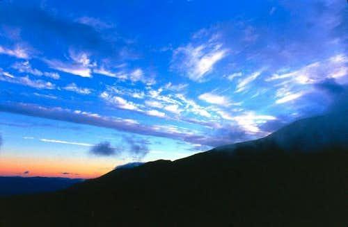 Sunrise on Mt. Washington...