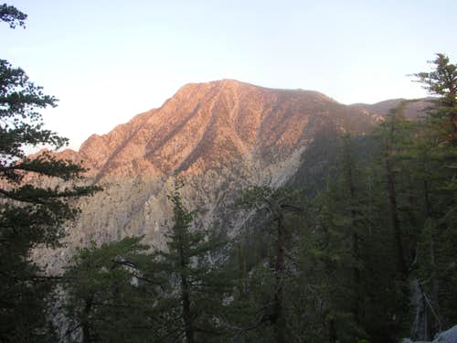 View of San Jacinto Peak