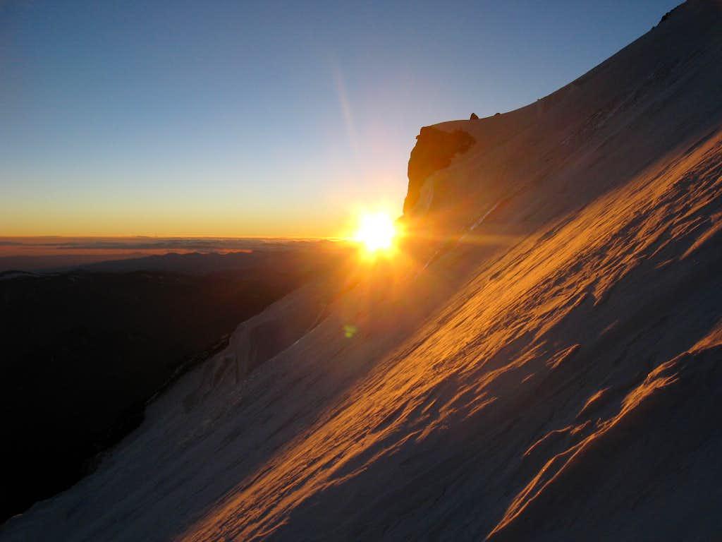 Sunrise on the Polish Direct