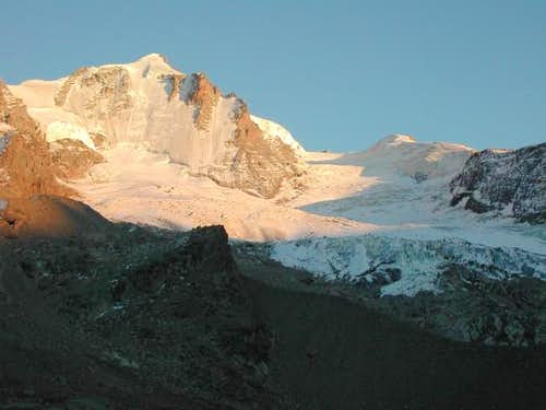The Gran Paradiso the evening...