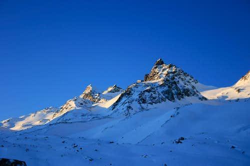 Zahnspitze, 3.096m