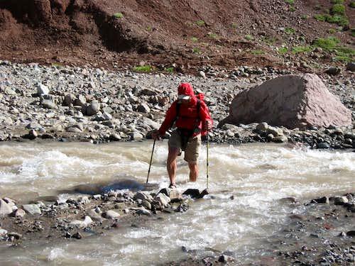 Ron Crossing the Rio Relinchos