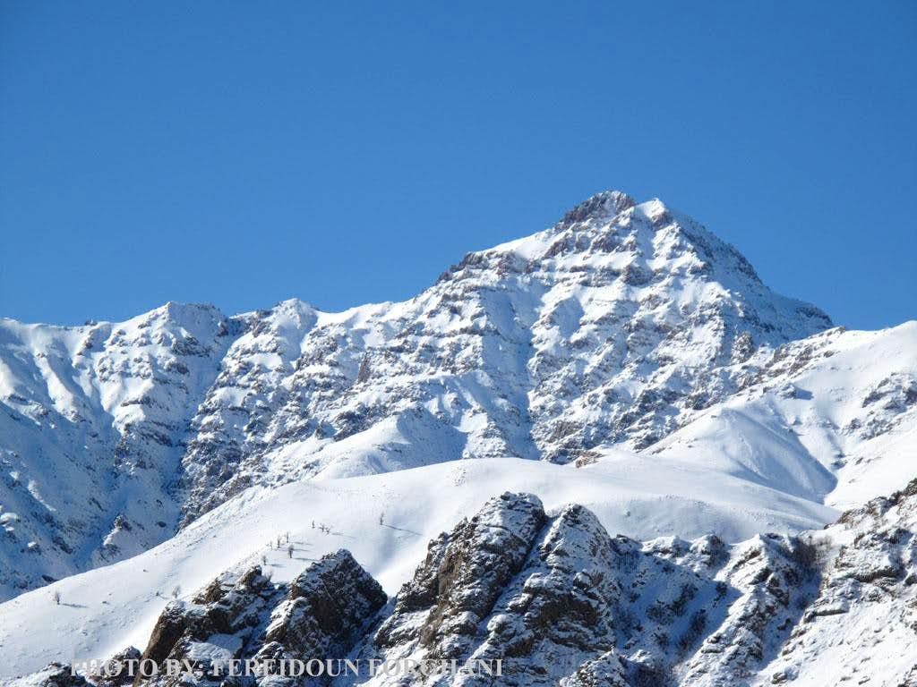 Mt Narges in winter