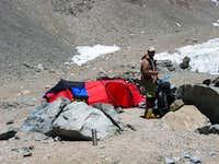 Stefan at Camp 1