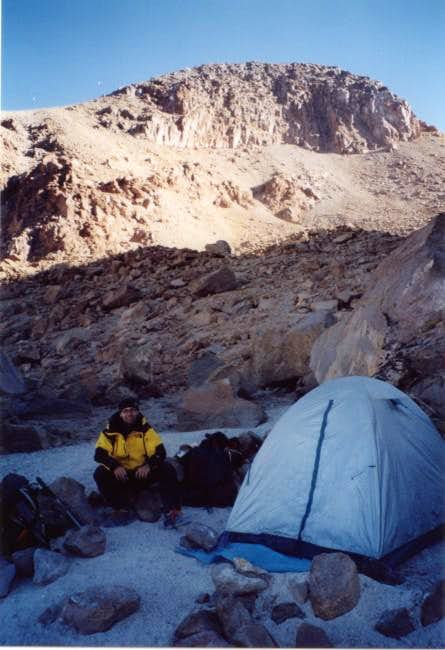 Camp at 5300 m (Azufrera route)