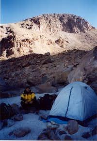 Camp at 5300 m (Azufrera route)