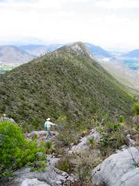Cerro Cebadero summit view East