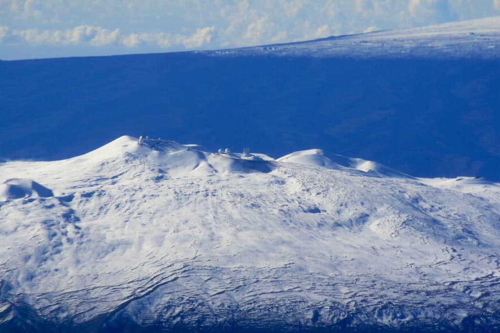 Mauna Kea In White