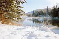 Same day on at Lake Wenatchee State Park December 2008