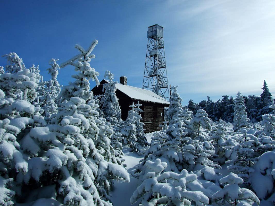 Hunter mountain fire tower photos diagrams topos for Cabins near hunter mountain