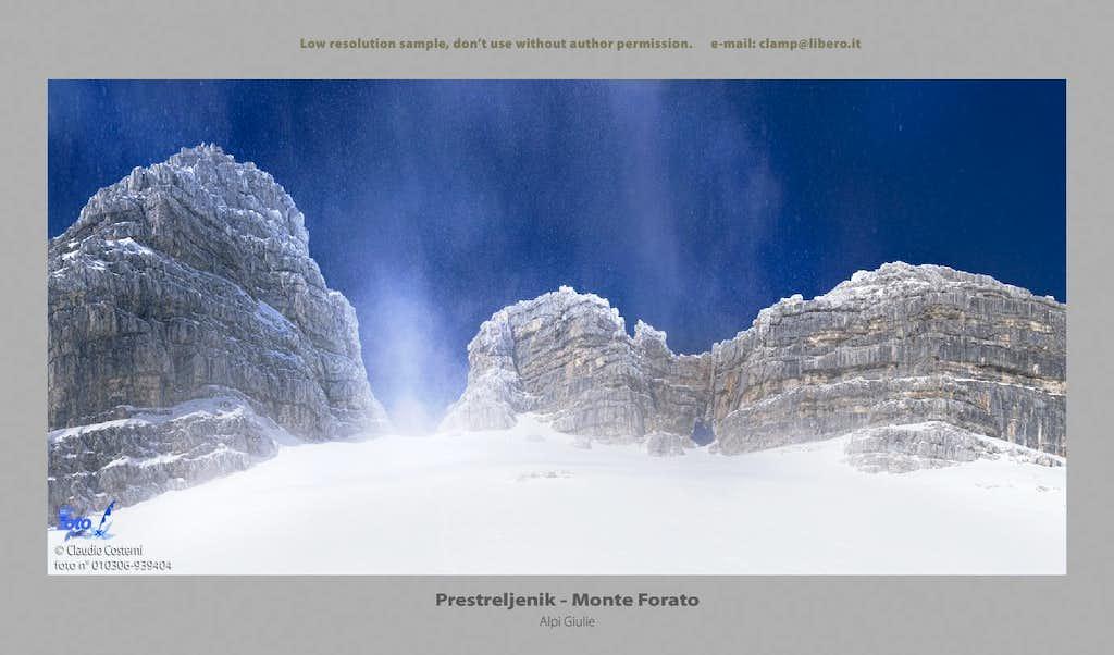 Prestreljenik - Monte Forato
