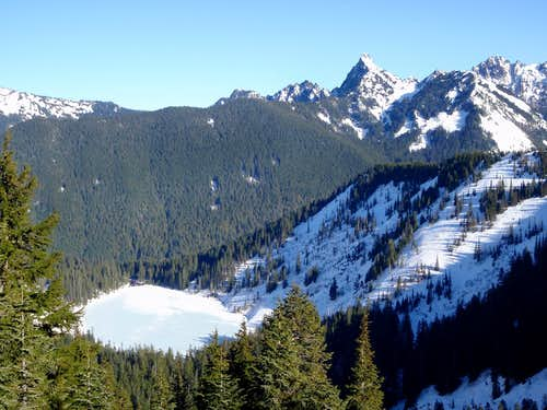 Pratt Lake and Kaleetan Peak