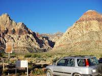 Approach to Oak Creek Canyon