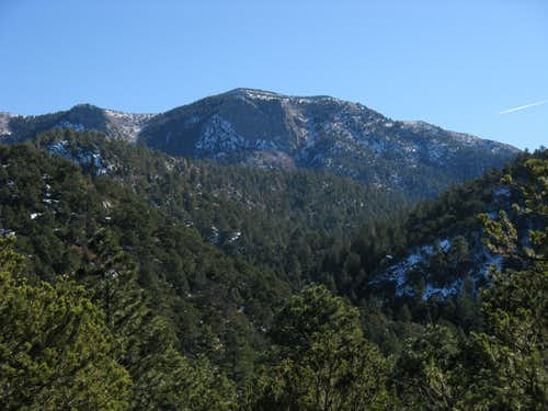 South Sandia from Embudito