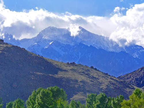 Mt. Williamson from Lone Pine