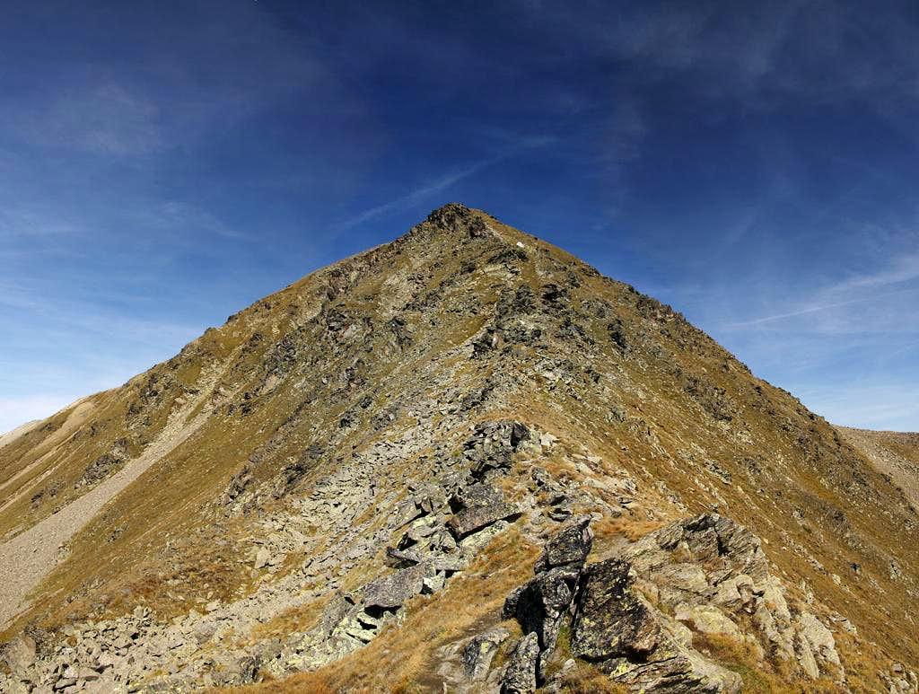 Elferspitz / Cima Undici south ridge