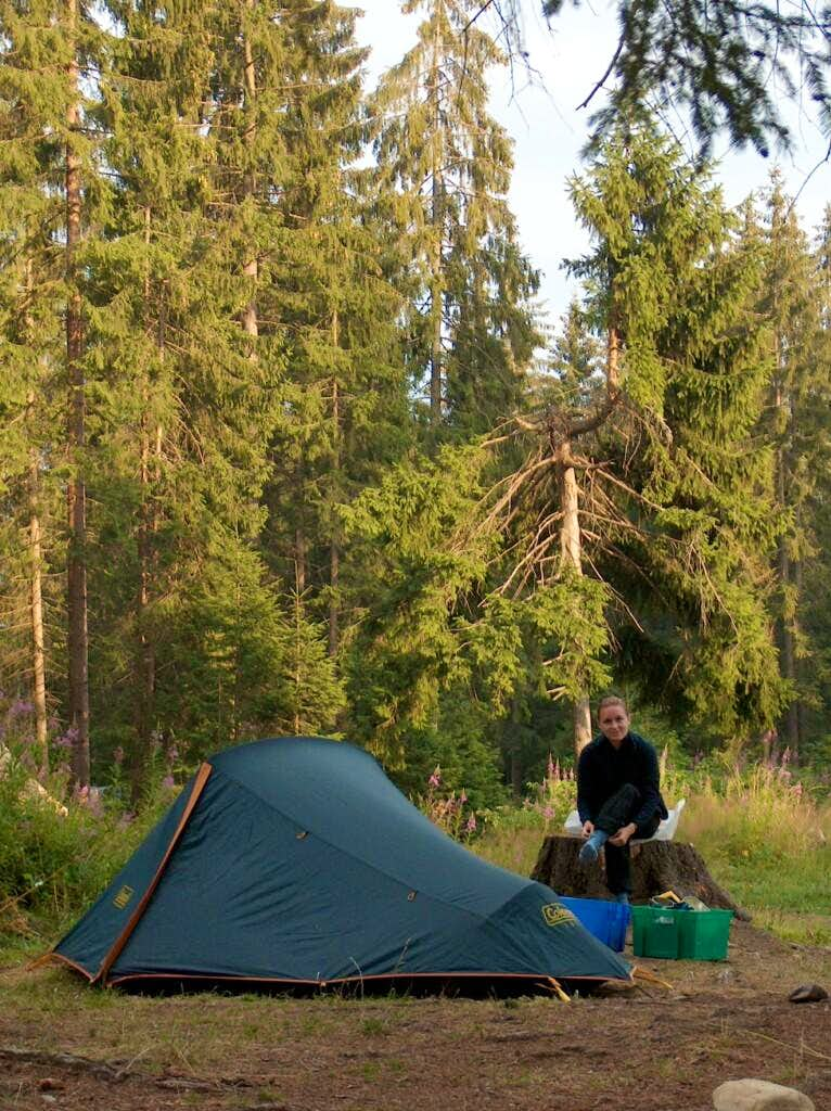 The Pribylina campsite