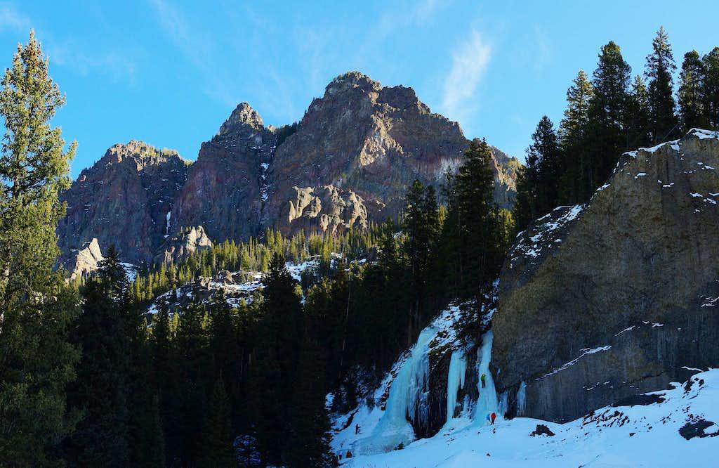 Ice Climbing Hyalite