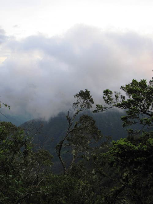 The Cloudy Blue Mountains, Jamaica