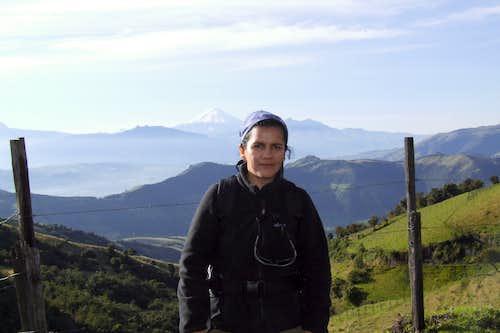 Ecuadorian mountains..