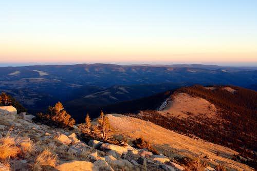 Sunset, Pecos Wilderness