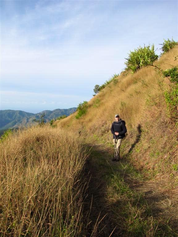 Hiking Blue Mountain Peak Trail