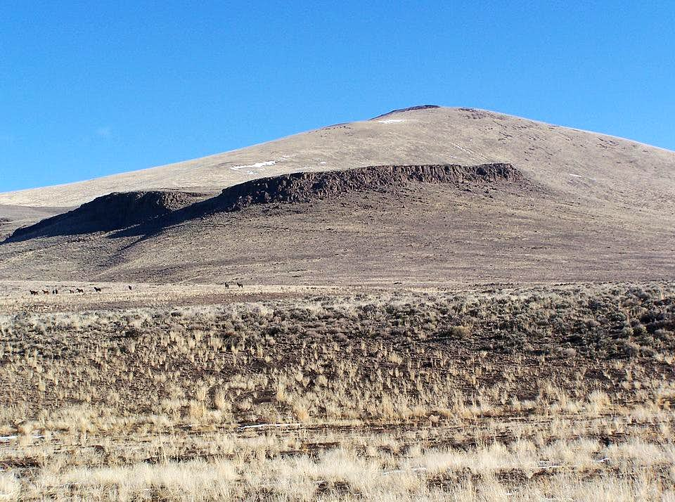 January in the High Desert - Beatys Butte