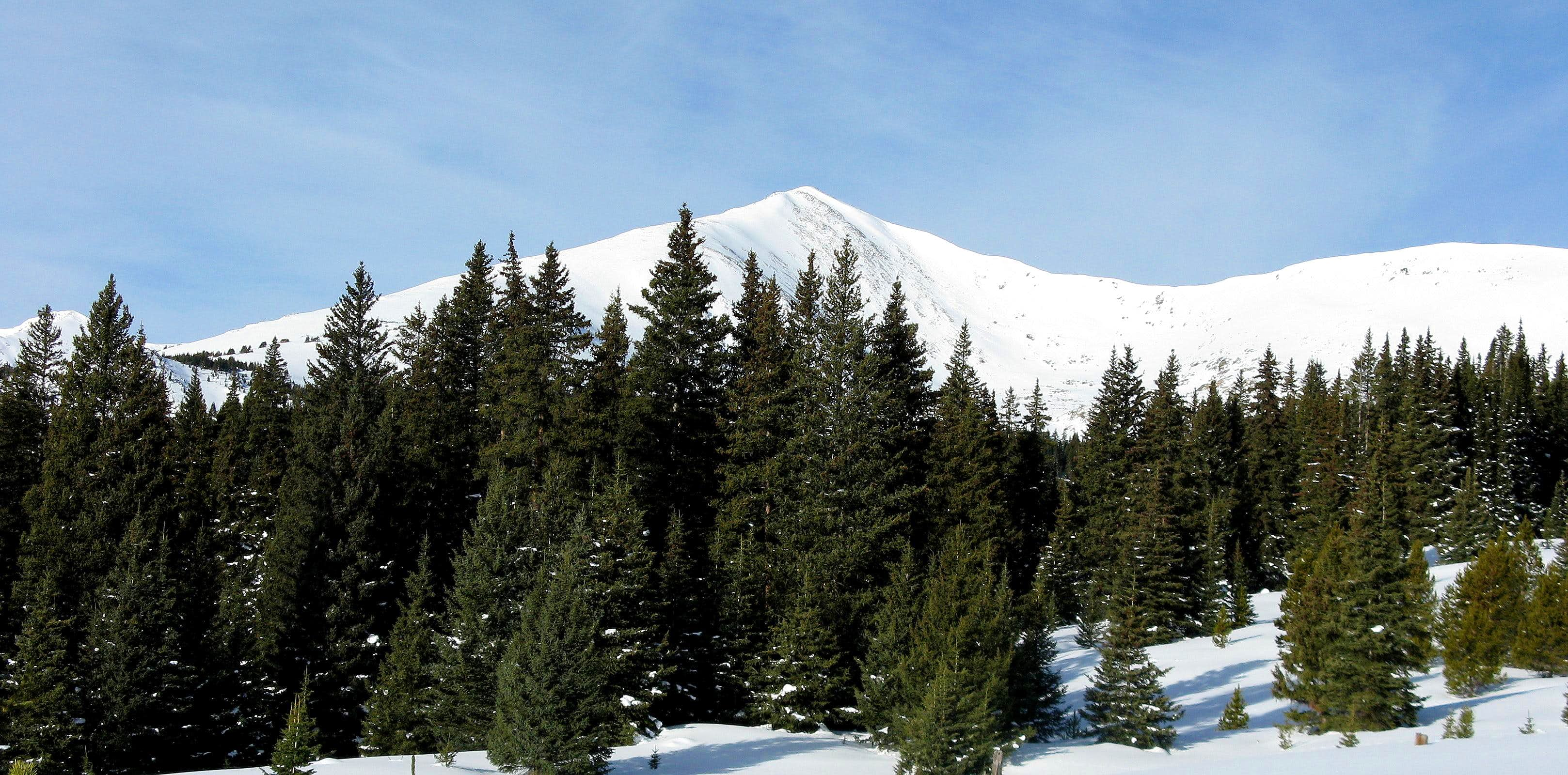 Homestake Peak: Is This Really Winter?