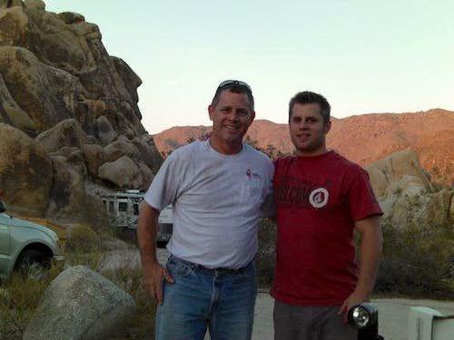 Joshua Tree - Dad and I