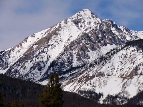 Baker Mountain, 12,397