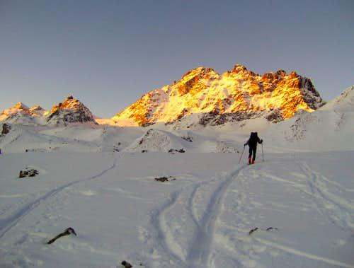 Fluchthorn, 3.398m