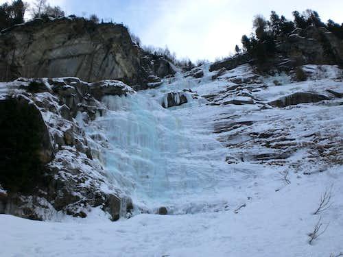Jahrzahlwand Icefall