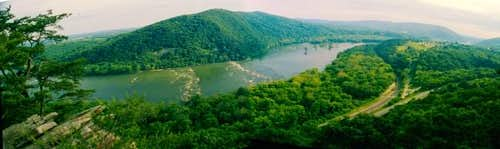 Potomac River from Weaverton Cliffs