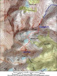 Northwest Face Route