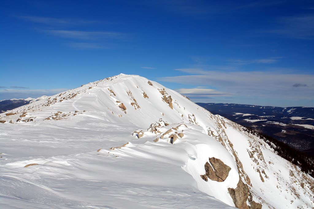 Summit of Santa Fe Baldy