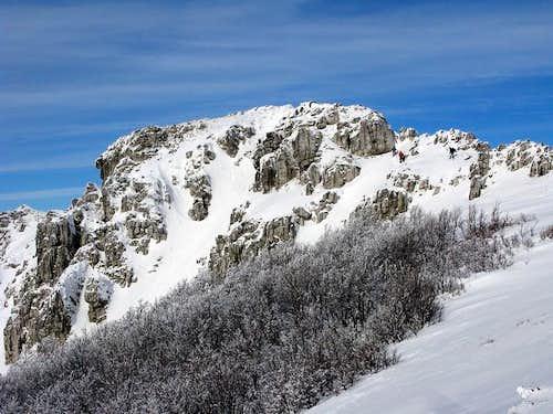 Snježnik summit (1.505 mtrs)