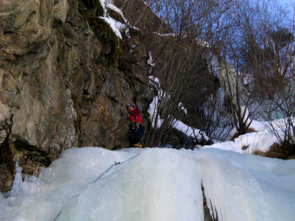 Milchtrinker Icefall