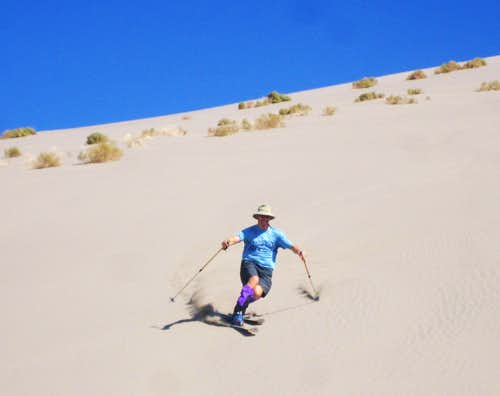 Skiing the Dunes
