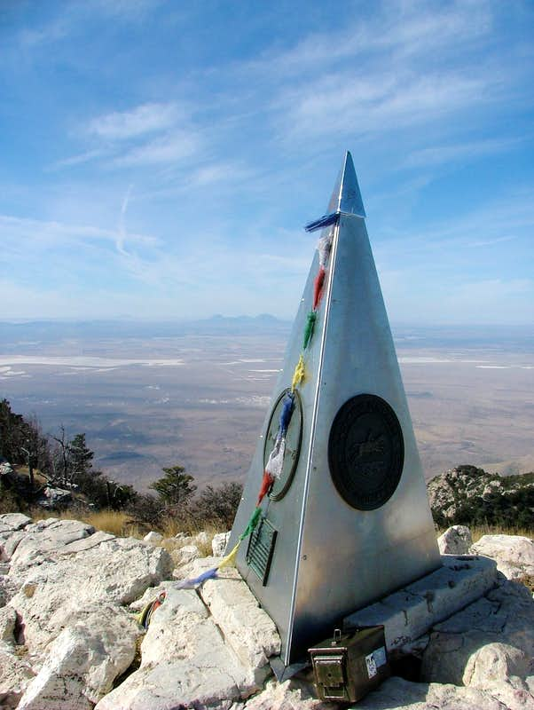 Guadalupe Peak Summit.