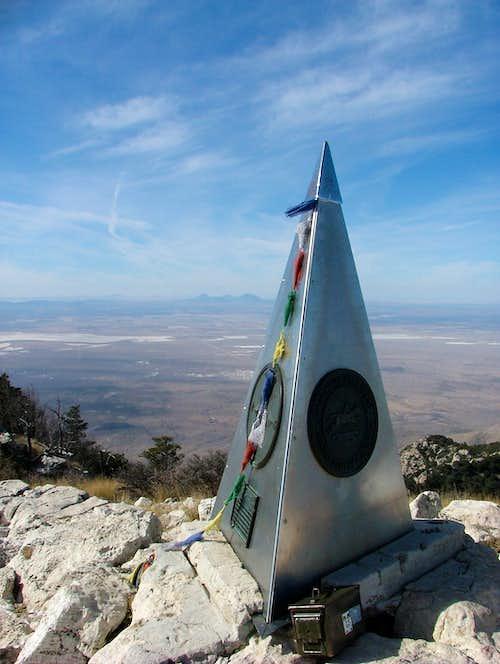 Climbing Texas highest Peak