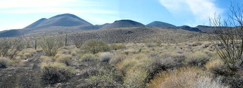 Carnegie and Pinacate Peaks, Jan 09
