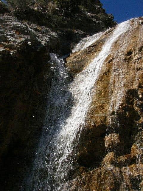 San Antonio Falls Closeup